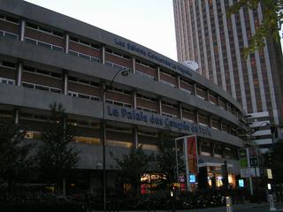 Le Palais des Congres de Paris